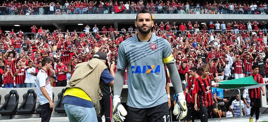 Weverton foi confirmado na seleção olímpica para substituir Fernando Prass. (Foto: Gustavo Oliveira/Site Oficial do Atlético Paranaense)